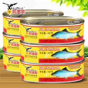 【6罐特惠装】鹰金钱 优质豆豉鲮鱼 227g*6罐