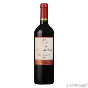 【智利进口】828金马红葡萄酒 750ml