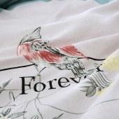 【花花公子】家纺 四件套床上用品磨毛舒适单双人套件喜上眉梢 喜上眉梢 200*230cm