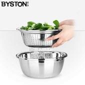 栢士德 BYSTON BST-059 巧厨两件套 24公分沥水盆+24公分多用盆