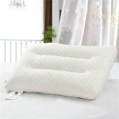 【花花公子】PLAYBOY颗粒乳胶枕 枕芯 释压按摩颗粒 护颈枕头 米黄