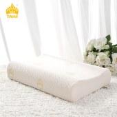 【泰国进口】TAIHI泰嗨天然乳胶枕头 高低平面枕TH-002