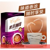 正康惠仁 含糖即溶休闲咖啡饮品浓香型速溶酵素咖啡多口味左旋肉碱咖啡 180g 左旋果蔬口味