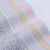 FENGMI【三条装】 纯棉无痕女士内裤 拼色中腰提臀透气性感女无痕三角裤FM901