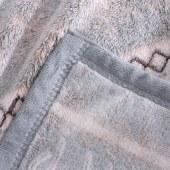 """花花公子 雕花绒毯 毯子 床品 舒适保暖 雕花绒毯 """"180cm*200cm"""
