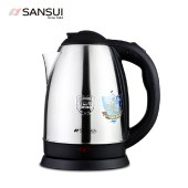 山水(SANSUI) 电热水壶食品级304不锈钢电水壶家用自动断电烧水壶15B16