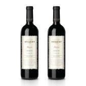 【智利进口】黛莉卡干红葡萄酒 750ml 双支装