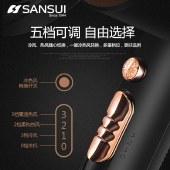 山水 (SANSUI)高档电吹风 五档可调造型专家 恒温护发不伤发吹风机SCF90