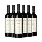【智利进口】黛莉卡干红葡萄酒 750ml 6支装