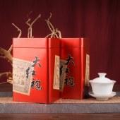【岩韵果香】远辰 武夷山岭上甘大红袍 中轻火炭焙春茶高档礼罐装 果香型500克(250克*2罐)