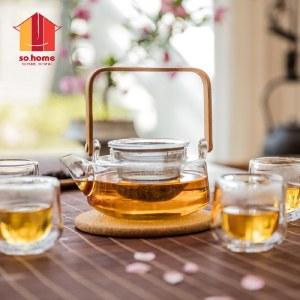 so.home净思茶具六件套礼盒装 茶水壶杯子GT503-A 25107470012