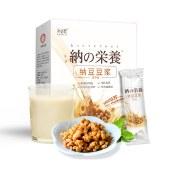 纳豆豆浆日本益生菌发酵高蛋白速溶小黄豆营养早餐无糖1盒15g*10袋