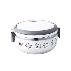 徳铂(debo) 不锈钢单层保温饭盒 卡通儿童学生密封饭盒700ml沃尔 DEP-F183G
