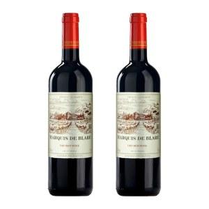 【法国进口】布拉雷侯爵干红葡萄酒750ml 双支装