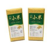 沙漠内蒙古特产小米无农药无重金属残留1KG/盒
