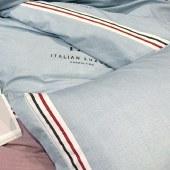 悠梦嘉居 时尚江南四件套 活性印染磨毛布 印花套件 双人四件套 200*230CM YJ8-011