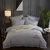 悠梦嘉居 新疆长绒棉四件套 纯棉套件 床上用品床单被套枕套 双人印花四件套200*230  YJ8-016