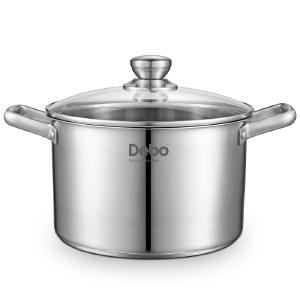 Debo 德铂汤锅304不锈钢煲汤锅尼尔20cm DEP-606