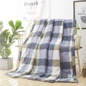 悠梦嘉居 梵品水洗棉夏被 柔软舒适空调被 180*210cm/200*230cm
