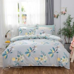 悠梦嘉居 精梳棉四件套 床单式印花套件双人四件套200*230 YJ8-013