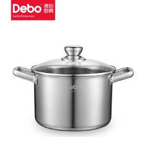 debo徳铂 福特汤锅 煮锅24cm DEP-605