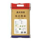 鑫米粮缘东北香米5KG/袋 五常大米10斤装