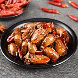 癫狂麻辣/五香味鸭心 下酒菜零食熟食即食小吃100g/袋