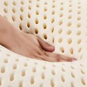 泰嗨 特拉雷面包乳胶枕头 枕心带枕套 泰国原装进口,90%乳胶 TPX12
