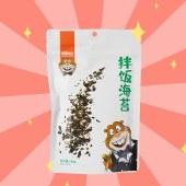 海狸先生拌饭海苔碎100g原味香松芝麻拌饭料儿童烤海苔即食包饭团