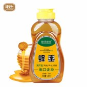 捷氏 蜂蜜500克(平嘴塑瓶)*1瓶 山花蜂蜜油菜蜂蜜波美度42°香甜可口 JIESHI-034