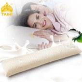 泰嗨 双人乳胶枕头 夫妻枕 枕心带枕套 泰国原装进口,90%乳胶 TPAD1