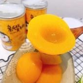 正宗嗨吃家 黄桃罐头 砀山纯手工制作 脆甜多汁果肉饱满 425g*6罐