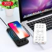 XO 自带吸盘无线充电快充充电宝13000毫安 移动电源移动充无线充 XO-PB85