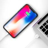 XO NB47 数据线苹果数据线iphone7/8 充电线无线传输线 白色