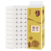 卫生纸卷纸16卷/提舒可乐木浆卫生纸家用实惠装纸巾厕所纸