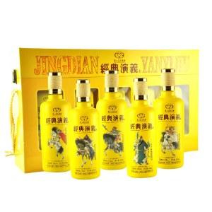 贵州茅台集团 经典演義五虎上将 600ml*5瓶 52度浓香型白酒