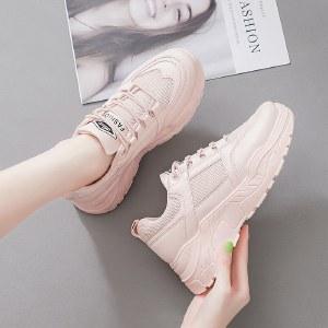 【精选好物】迪涛2020秋季新款韩版小白鞋女运动休闲跑步鞋