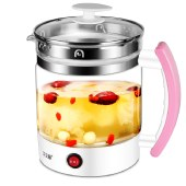 艾贝丽 养生壶1.8L 煮茶器煮茶壶烧水壶电水壶泡茶壶花茶壶热水壶 A-YSH2