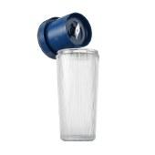摩飞 便携榨汁机 榨汁杯家用迷你手持无线充电搅拌机料理机果汁机 蓝色 MR9800