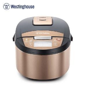 美国西屋(Westinghouse) 电饭煲 4L电饭锅球釜内胆金属拉丝机身 WRC-0410
