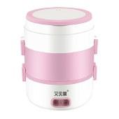 艾贝丽 电热饭盒 上班族便携蒸饭盒煮饭盒可插电加热保温热饭神器 RW-01