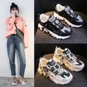 【精选好物】迪涛2020新款厚底鞋子增高ins老爹潮鞋女