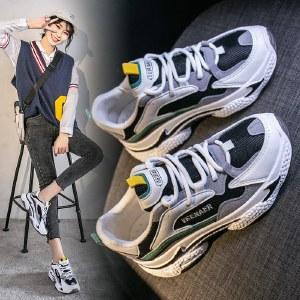 【精选好物】迪涛 2020秋季新款韩版女鞋厚底休闲鞋子ins潮鞋