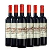 【直播专属】法国布拉雷侯爵干红葡萄酒750ml 六支装