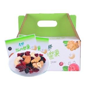 塞翁福名野每日坚果600g混合装干果零食大礼包20g*30袋整箱礼盒装【新品上市】
