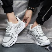 迪涛 2020新款潮鞋子男生透气运动休闲网布鞋韩版潮流男士百搭男鞋