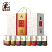 塞翁福有机杂粮8盒装(红色)红小豆燕麦米绿豆黑米黄豆【新品上市】
