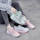 瀚蜓 ins韩版飞织女鞋2020新款百搭运动鞋女透气健身跑步休闲