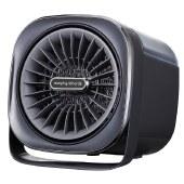 摩飞 亲肤冷暖风机家用三合一小型热风机加湿电暖器小太阳取暖器MR2020