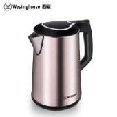 西屋(Westinghouse) 电水壶304不锈钢防烫电热水壶1.7L 热水壶 WEK-1501